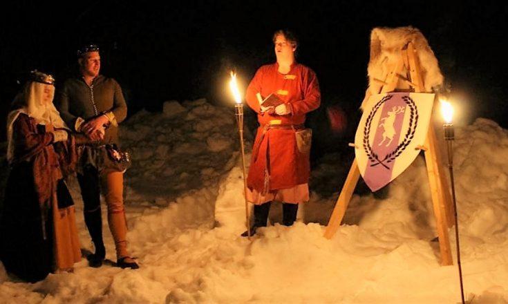 Fursteparet vid Frostheims Norrskensfest AS L