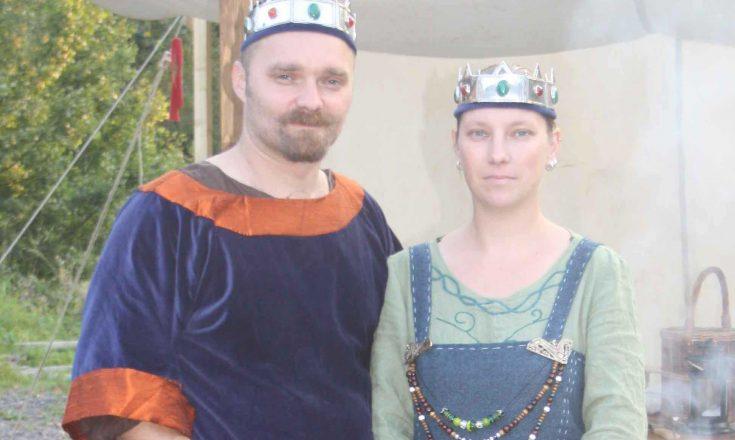 Furstepar Bjaere och Maria